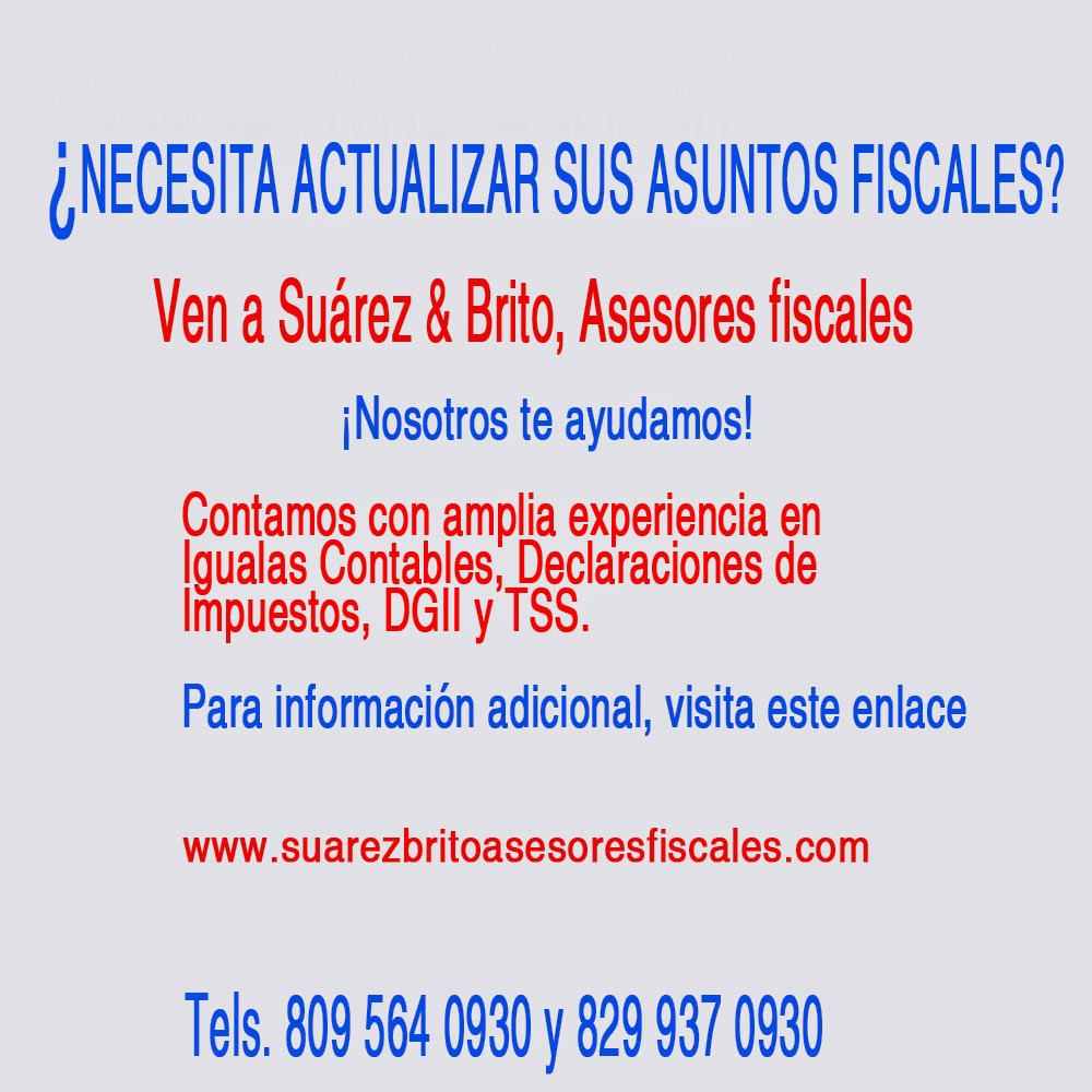 Suárez & Brito, Asesores Fiscales