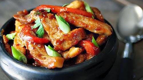 Thịt ram xốt chua ngọt ngon miệng đưa cơm