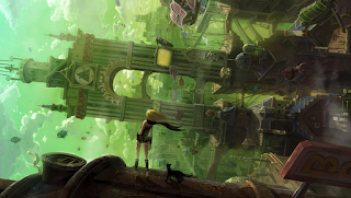 gravity rush vita wallpaper