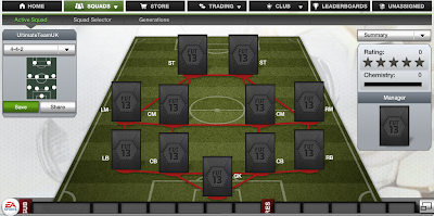 FUT 13 Formations - 4-4-2 - FIFA 13 Ultimate Team