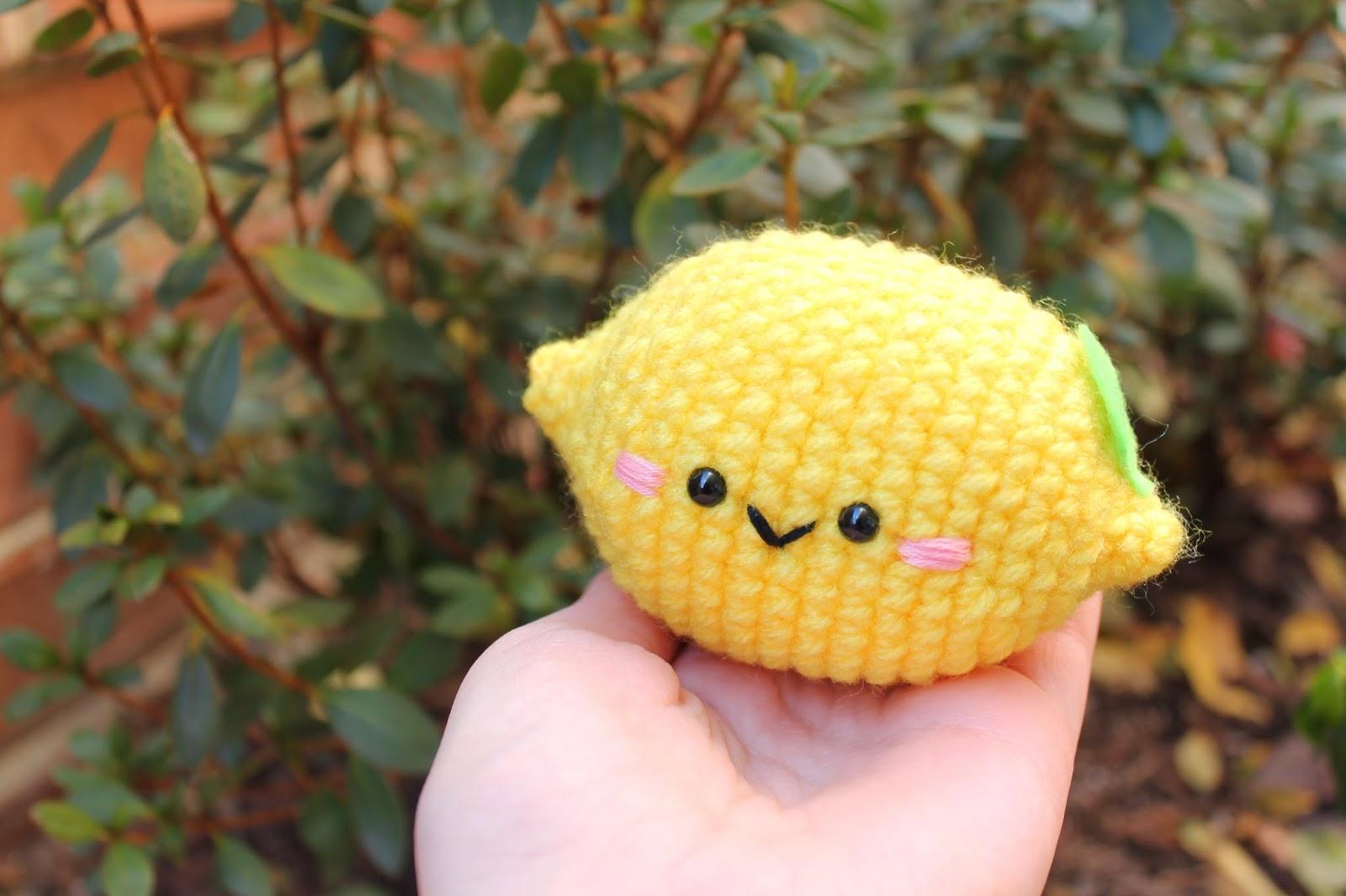 Amigurumi Patterns Free Food : Amigurumi Food: Lemon cute Amigurumi Free pattern!