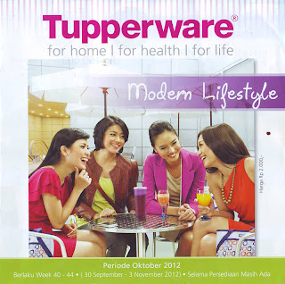 Katalog Tupperware Oktober 2012 dan Penjualan