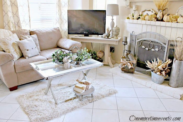 Family Room Makeover at One More Time Events.com