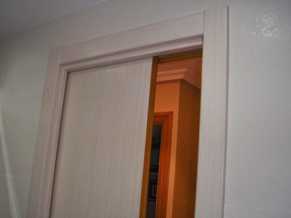 Puerta corredera muebles cansado zaragoza carpintero - Puerta corredera krona ...