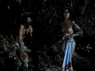 Kali Hansa in Night of the Sorcerers (1973) aka La noche de los brujos