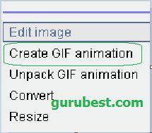 how to make animated gif using mobile phone