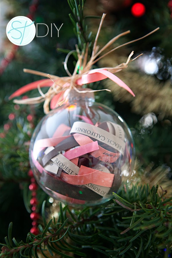 decorazioni palle natale matrimonio DIY fai da te