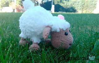 Free Amigurumi Lamb : Amigurumi sheep dog kalulu for