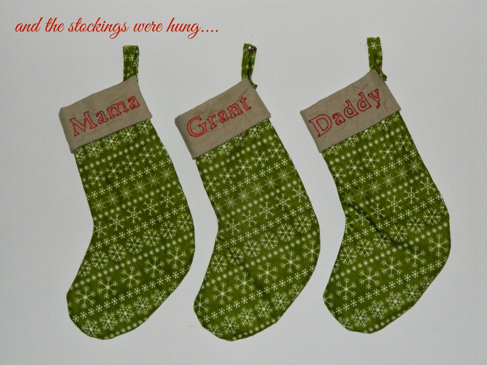 Always Homemade Homemade Christmas Stockings