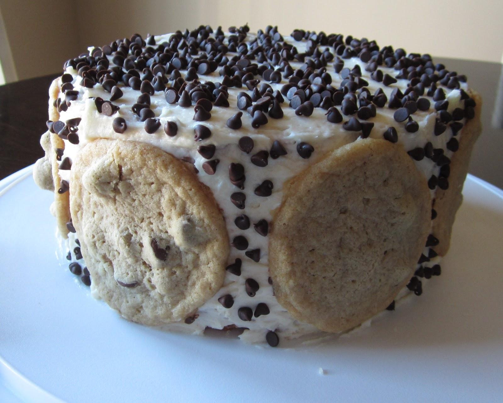 Sewin Sanity My Husbands Birthday Cake Chocolate Chip Cookie