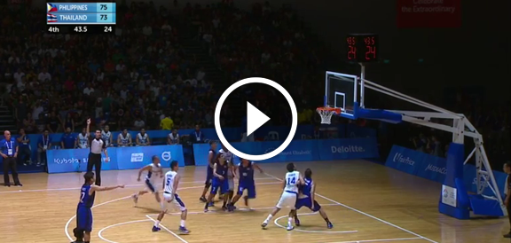 Gilas Cadets def. Thailand, 80-75 (REPLAY VIDEO) SEA Games 2015 Men's Basketball Semifinals / June 14