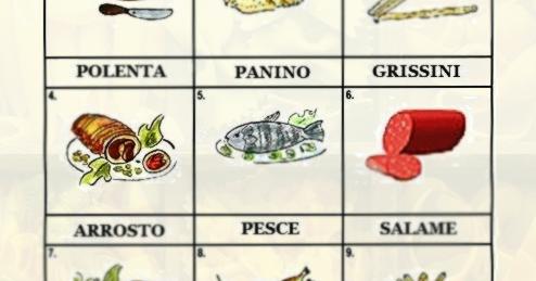 Итальянский в картинках: Еда + аудио