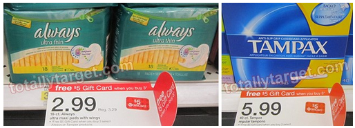 Target: Always Ultra Thins As Low As $0.33 Each