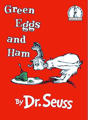 The list of the best books for kids - Green Eggs and Ham by Dr. Seuss