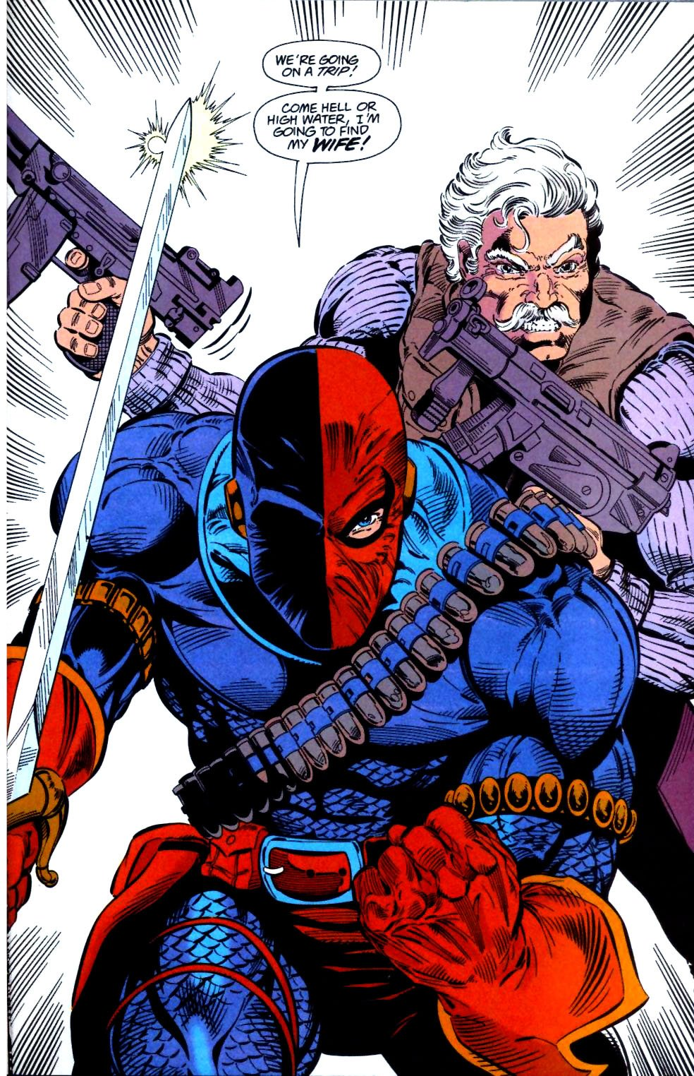Deathstroke (1991) Issue #28 #33 - English 20