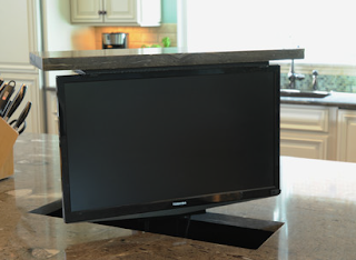 Powered TV lifts