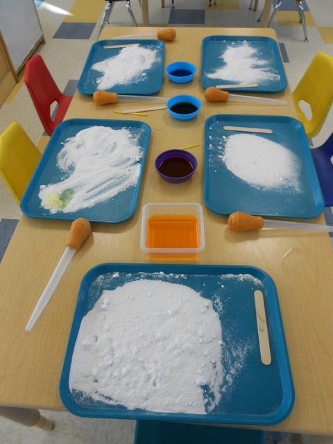 winter science experiments for preschoolers gan camarillo preschool vinegar amp baking soda science 432