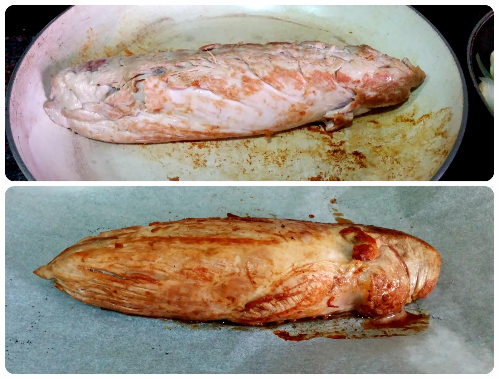 Don Solomillón: solomillo de cerdo con salsa braten y puré de patatas asadas