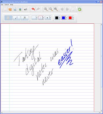 Notelab, programa per fer anotacions