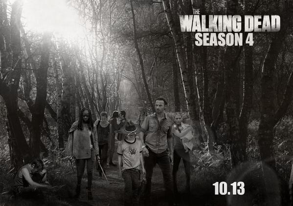 The Walking Dead: Fecha de estreno de la 4ª temporada