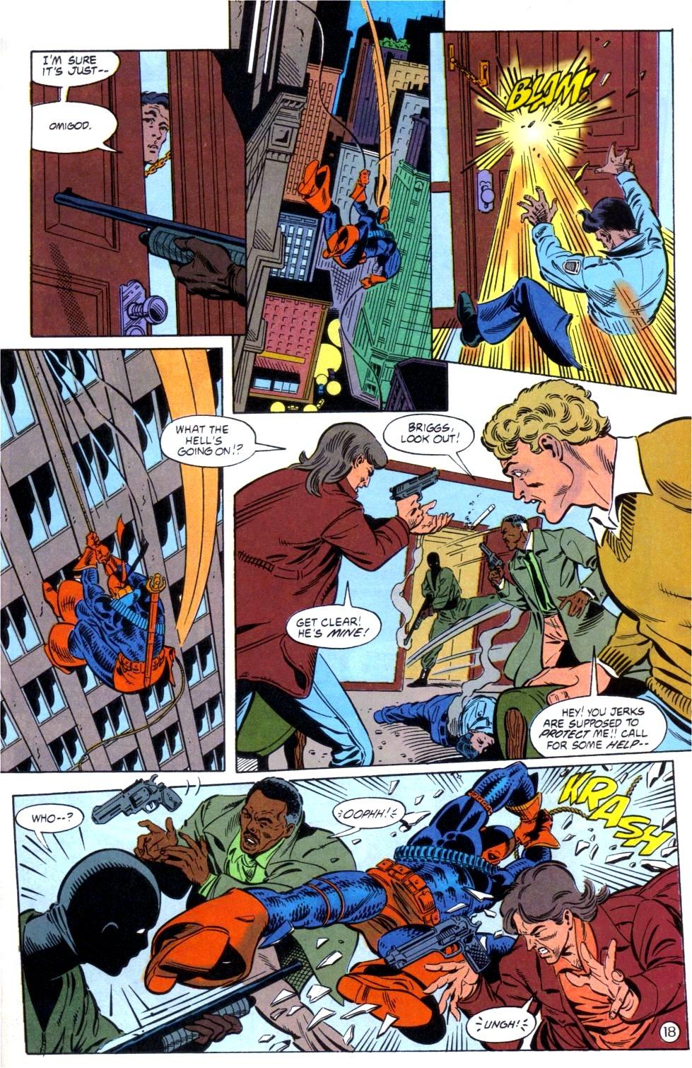 Deathstroke (1991) Issue #6 #11 - English 19