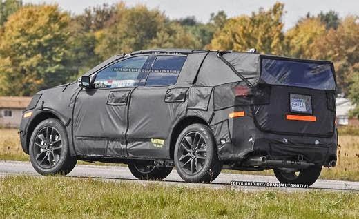 Sneak Peek: 2015 Ford Edge