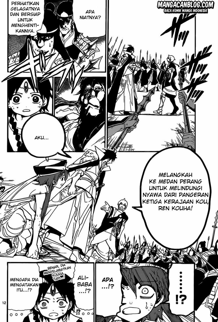 Dilarang COPAS - situs resmi www.mangacanblog.com - Komik magi 186 - kouen dan alibaba 187 Indonesia magi 186 - kouen dan alibaba Terbaru 11|Baca Manga Komik Indonesia|Mangacan