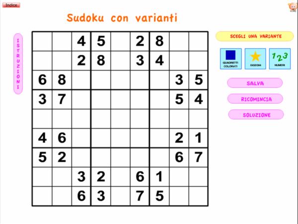 Verifiche Matematica Scuola Primaria Giochi Per Le Vacanze Il Sudoku