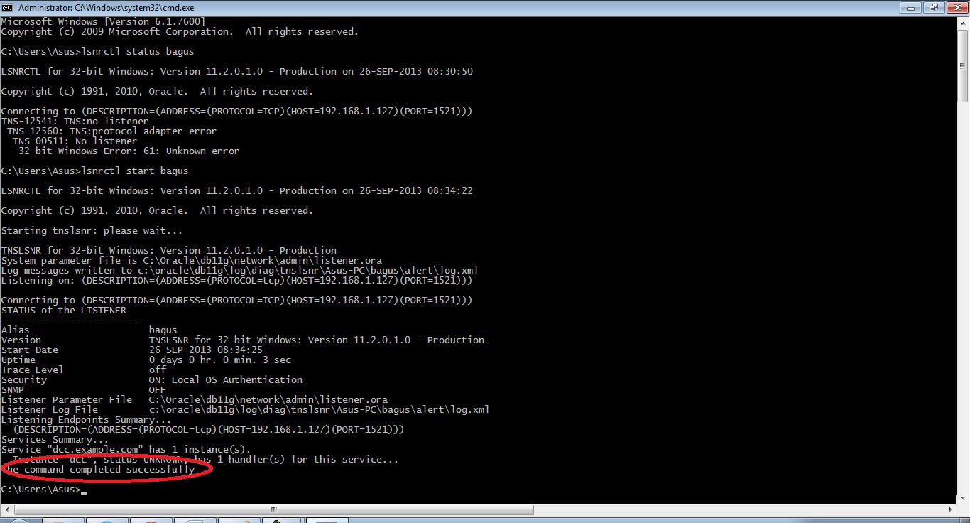 Koneksi Database Oracle dengan Visual Basic 6.0
