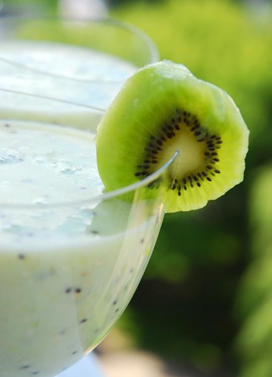 Koktajl mleczny z kiwi