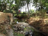 La Palanca de Can Detes sobre el riu Gurri