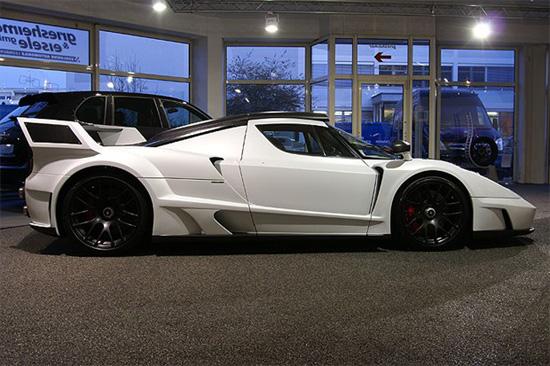 hd car wallpapers ferrari enzo black and white - Ferrari Enzo 2013 White