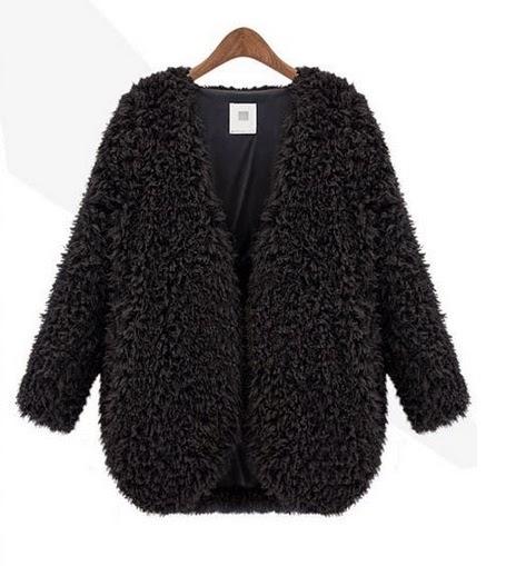 Cazadora de lana mujer