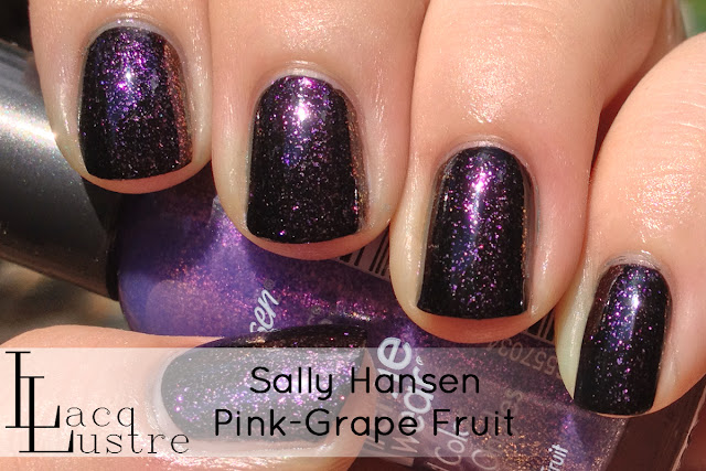 Sally Hansen Pink-Grape Fruit swatch