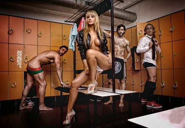Fotos Tamara Gorro - Mulher do Garay do Benfica