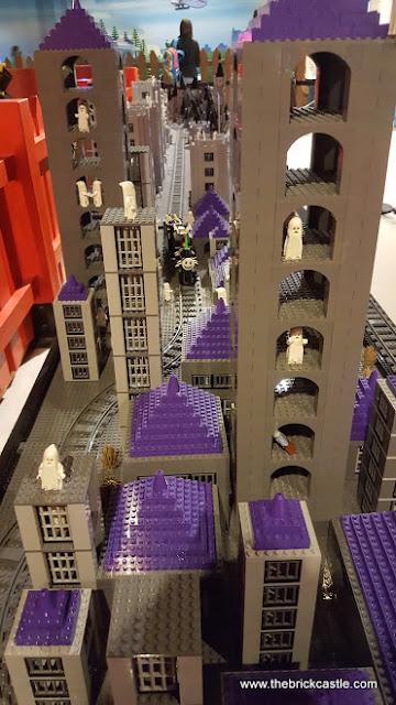 Creative Crew LEGO Halloween Castle Train Manchester LEGOLAND Discovery Centre