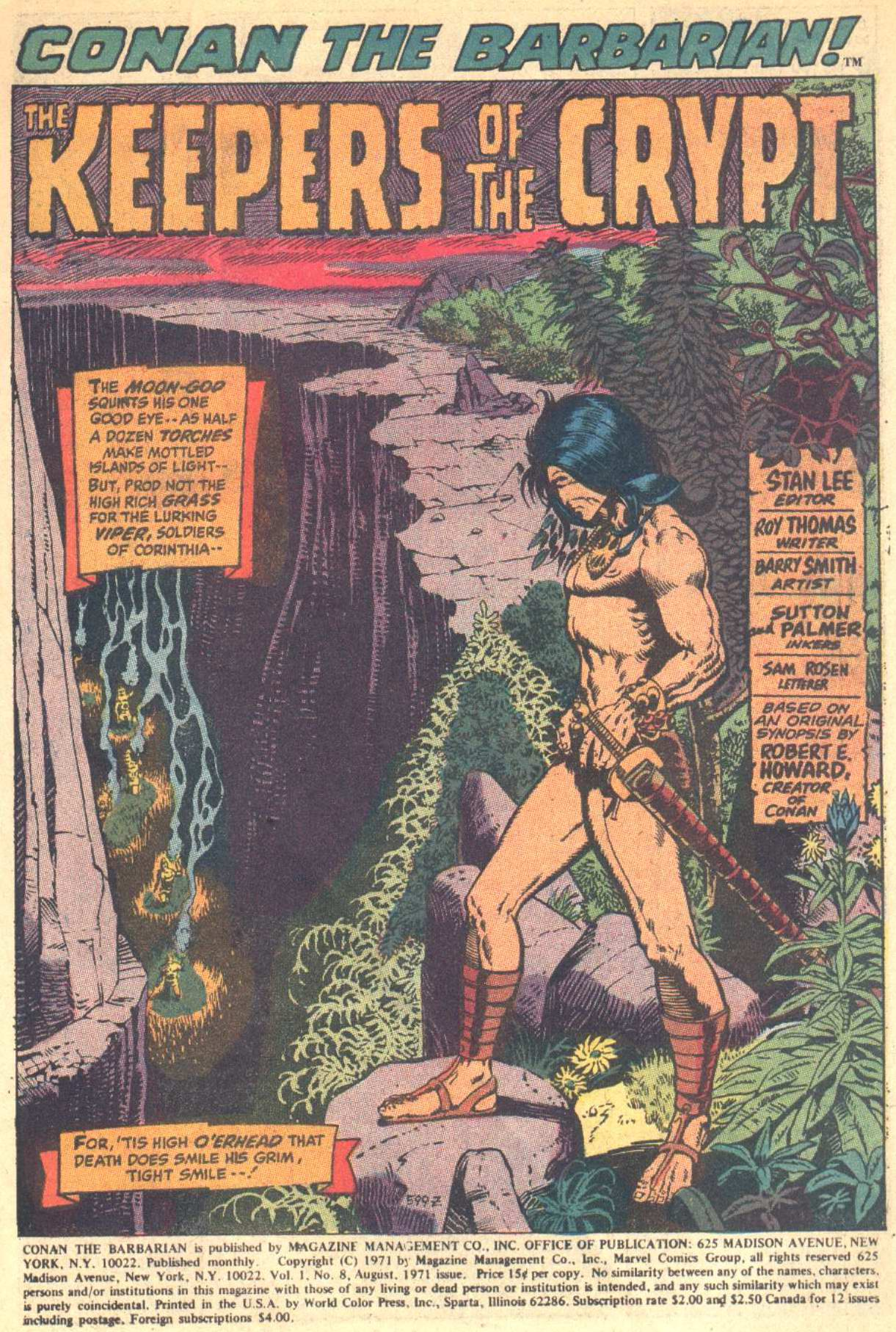 Conan the Barbarian (1970) Issue #8 #20 - English 2
