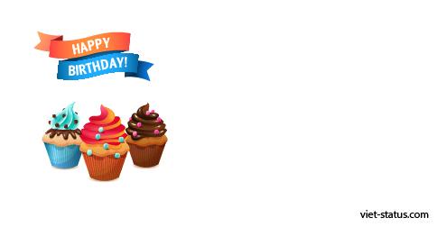 Status chúc mừng sinh nhật - mẫu 4