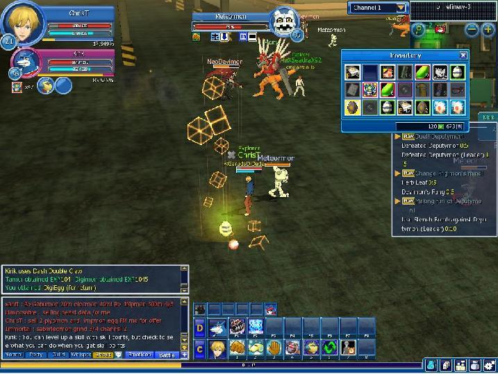 Digimon Master Online: How to Get Mercenary Digi-Egg?