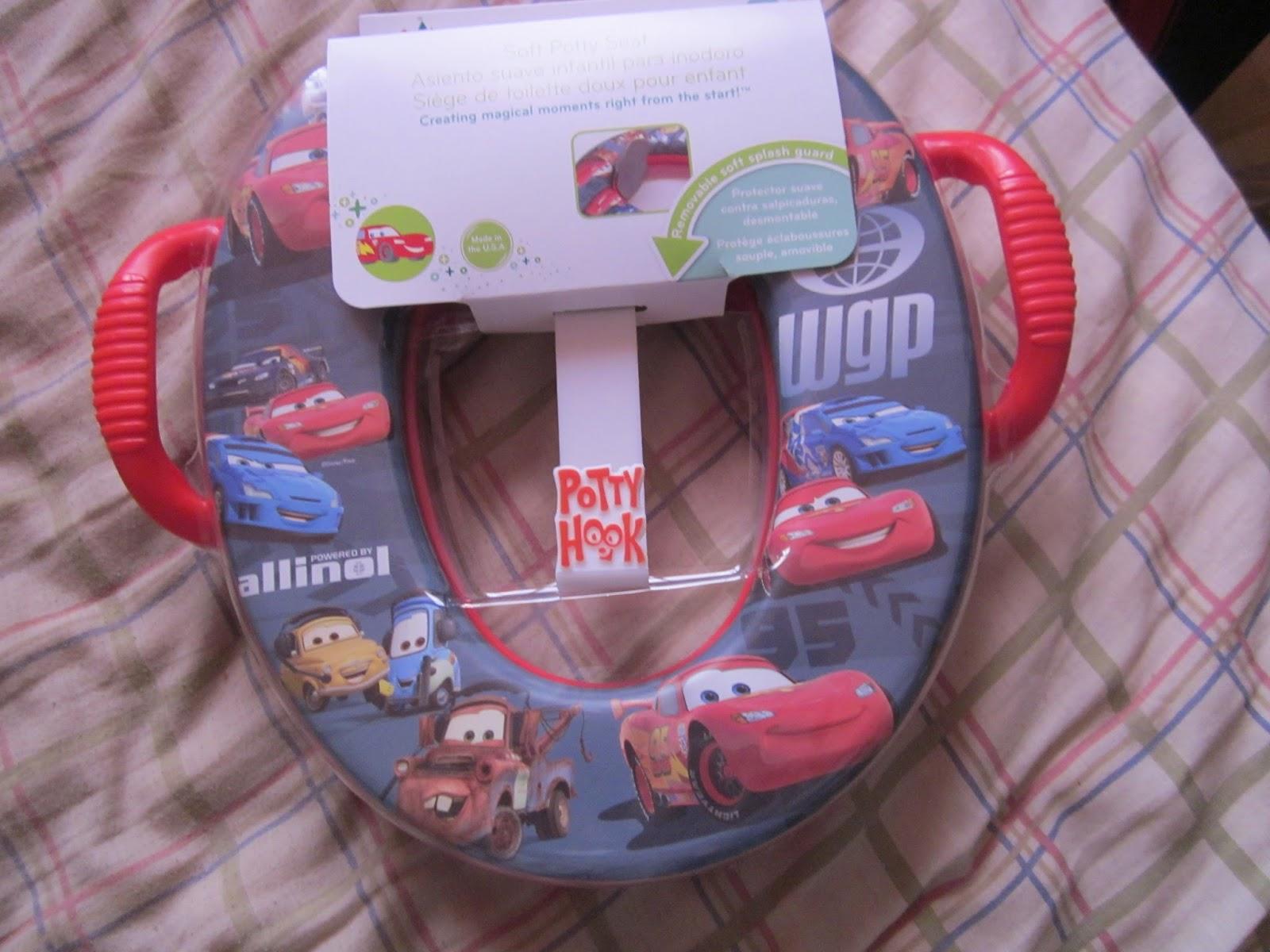 cars potty seat