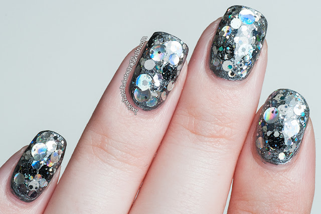 Femme Fatale Cosmetics Mercury Rain nail polish swatch