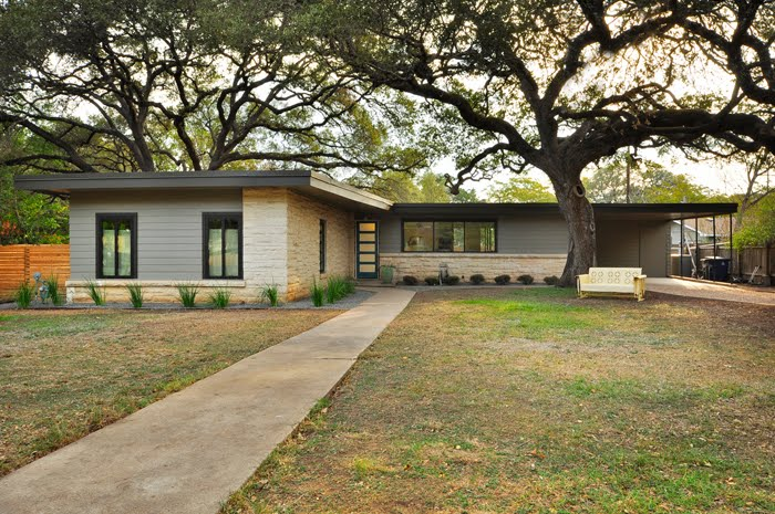 Mad for mid century 2012 austin modern home tour for Contemporary homes austin