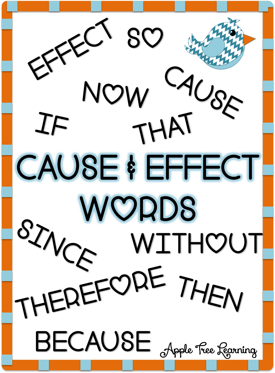 Cause & Effect words.