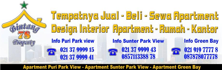 Apartemen Puri Park View Jual - Beli - Sewa - Design Interior