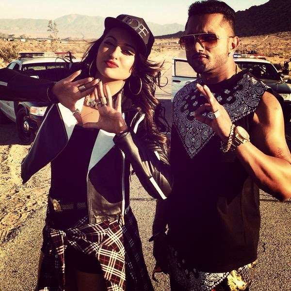 YO YO Honey Singh desi kalakaar Song Image With Sonakshi Sinha