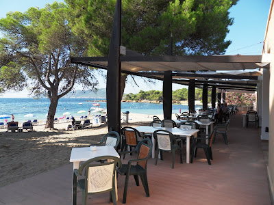 Beach bar Santa Eulalia coast