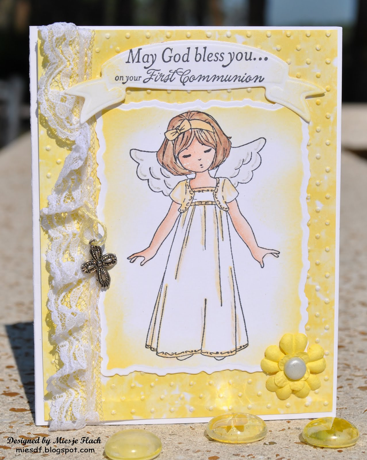 Craft room with a view more 1st communion cards more 1st communion cards kristyandbryce Choice Image