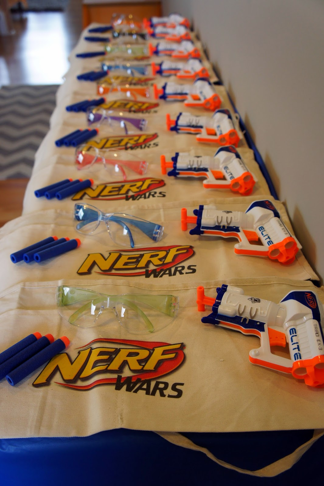 Ryans 8th Birthday Nerf Gun Party