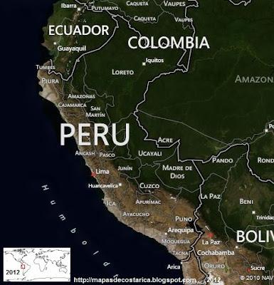 Vista aérea de PERU, BING