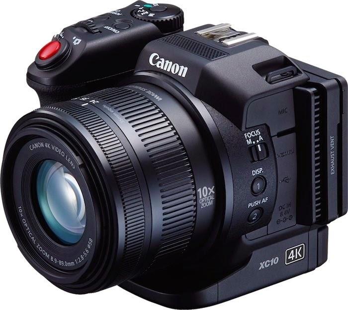 Canon xc 10 4K